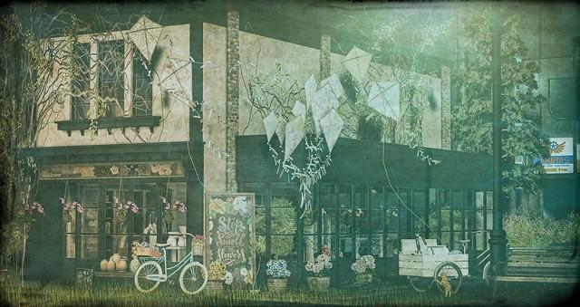 The flowers shop