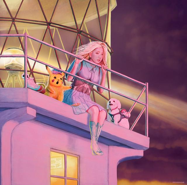 Blackpink Jisoo & Dalgomie feat Pikachu : Sunsets for that Unreachable Goddess : The Pokemon Master Hunter (lol) : The Tiffany Blue Gang (lol) : High and Dry (Radiohead) : Fake Plastic Trees (Radiohead) : Nice Dream (Radiohead) : Digital Drawing
