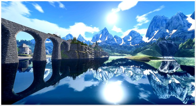 Alpine express - take a moment to reflect on yourself......