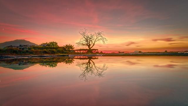sunset alor island