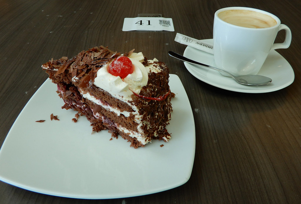 Black Forest Cake, Wenty Leagues, Wentworthville, Sydney, NSW.