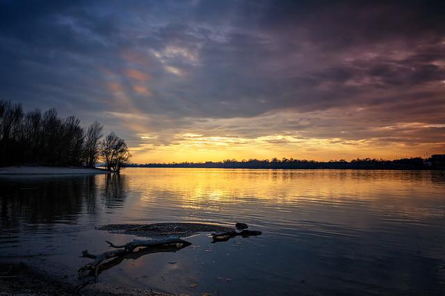 Dunai naplemente...(sunset on the Danube) - Hungary