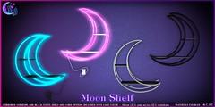 *NeverWish* Moon Shelf