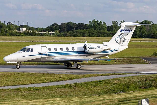 N650AT - Cessna 650 Citation VII - Air Trek - KPDK - Apr 2021