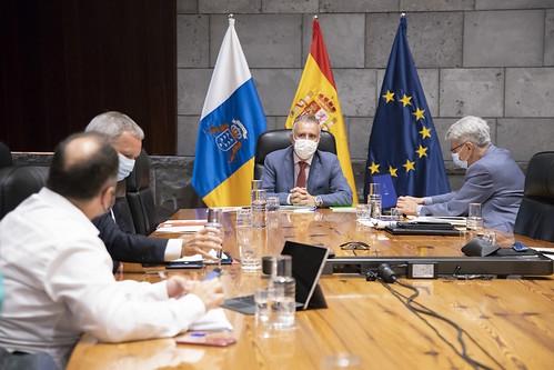 Un momento de la celebración del Consejo de Gobierno
