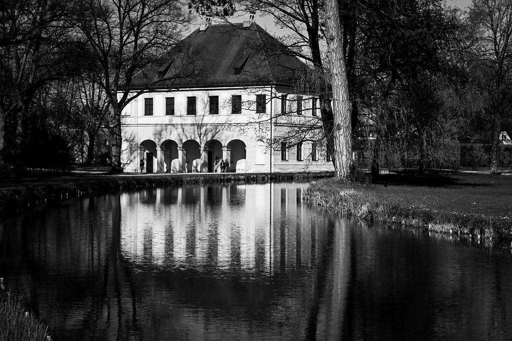 Schloss Lustheim, Reitstall. Deutschland