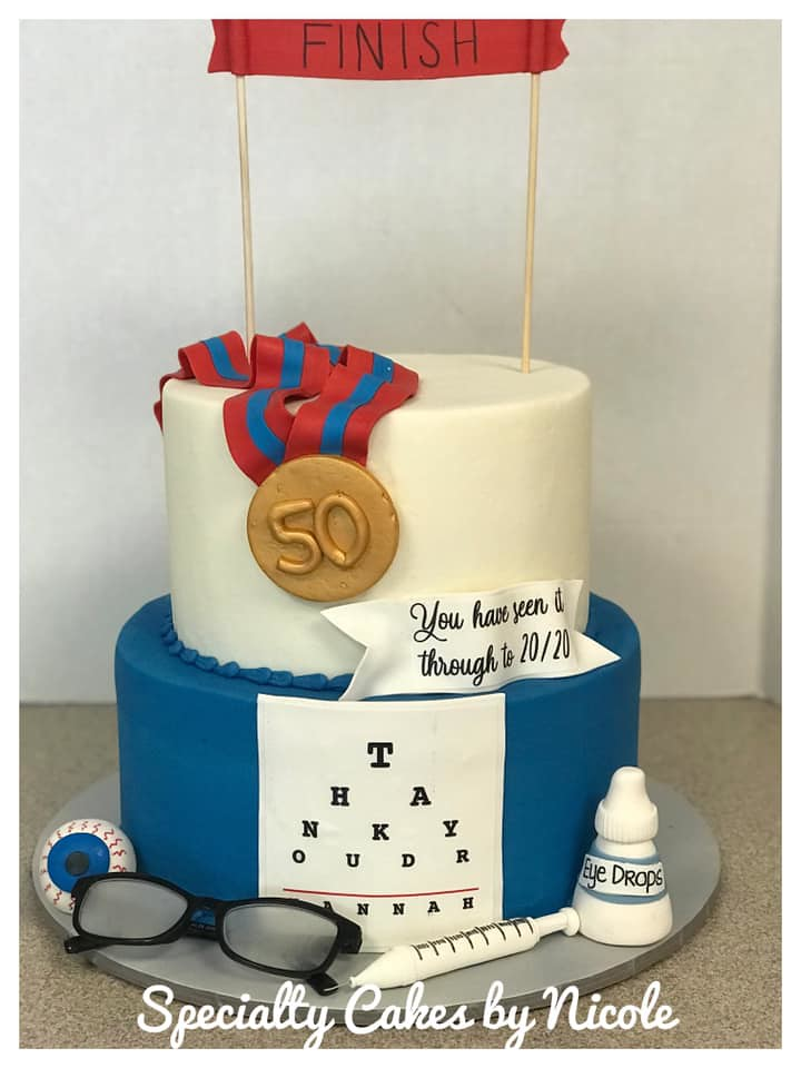 Cake from Specialty Cakes by Nicole Benfield