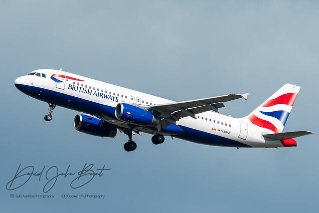 British Airways • Airbus A320 • G-EUUA
