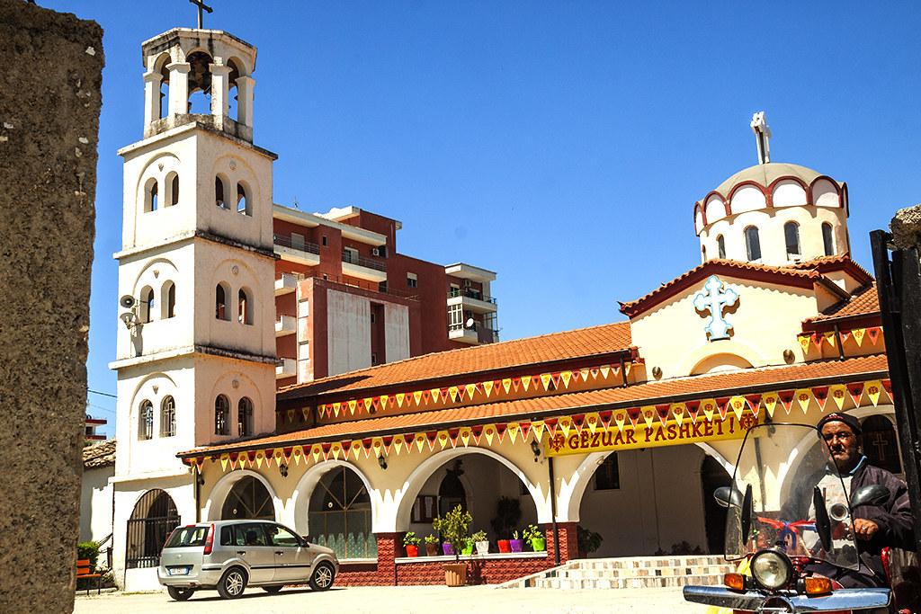 Catholic church on 4-29-21--Vlore
