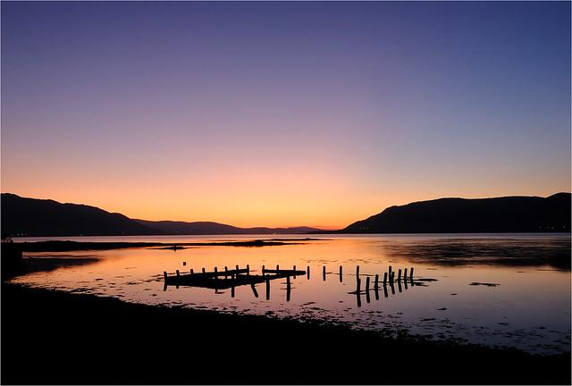 Carlingford Lough at dusk