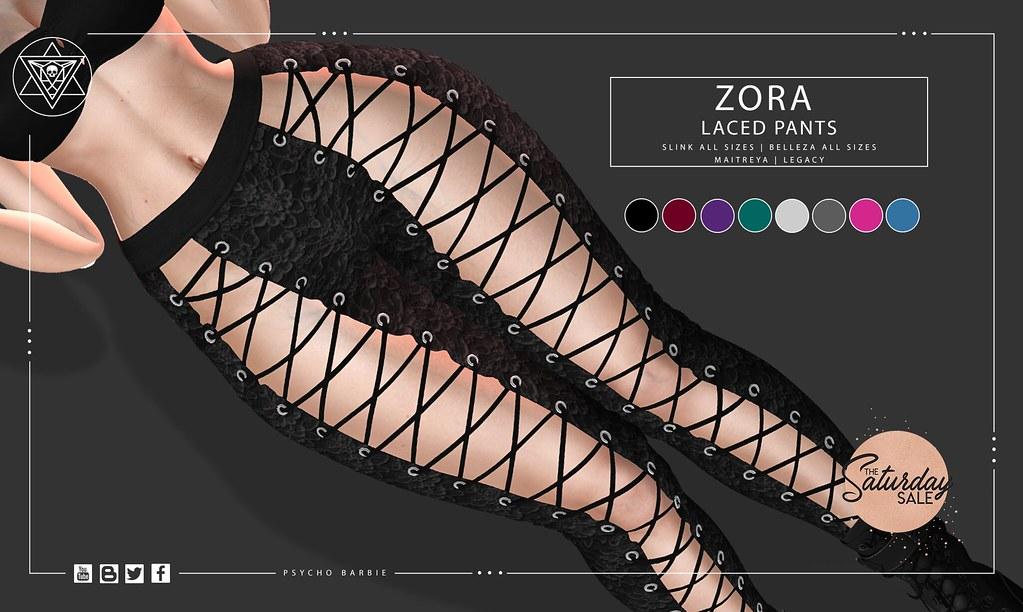 Zora Laced Pants @ Saturday Sale – 50L