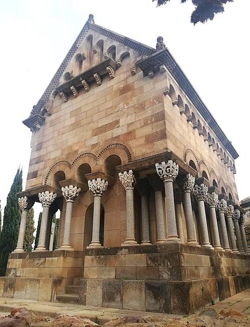 Barcelona - Cementiri de Montjuïc 130 a