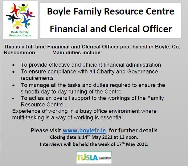 Boyle FRC advert