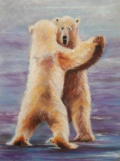 La danse des ours.