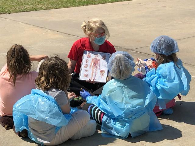 Women in Medicine inspire Girl Scouts