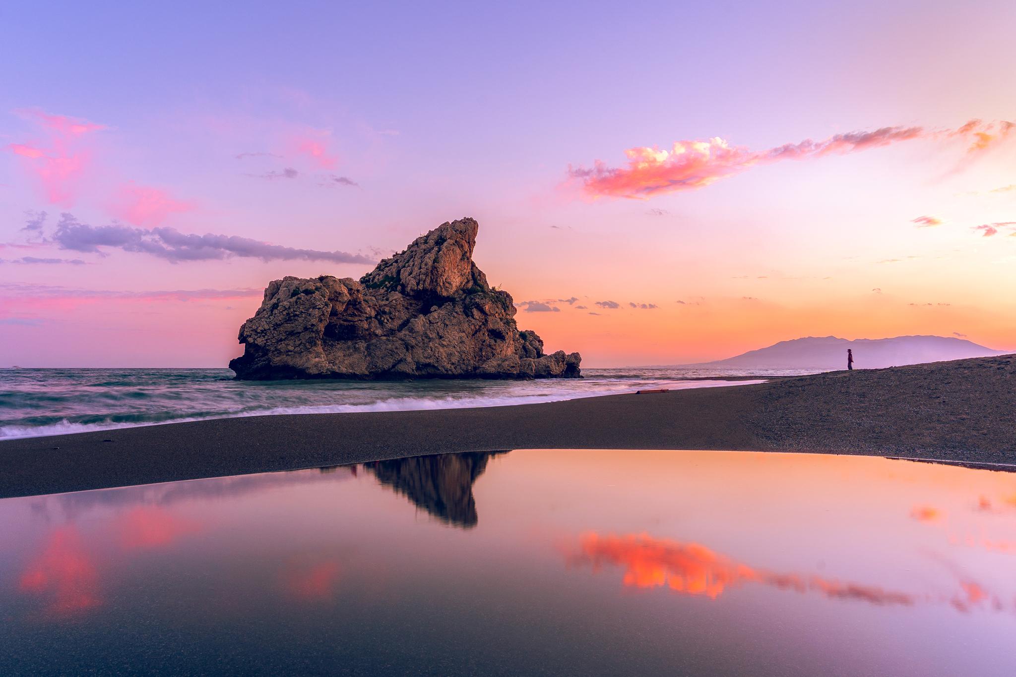 Playa del Peñón del Cuervo