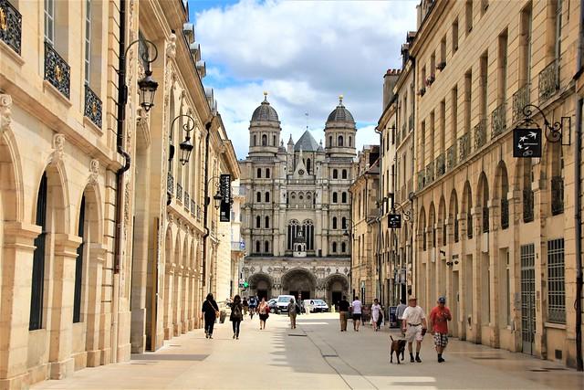 Dijon Bourgogne France : Rue Rameau