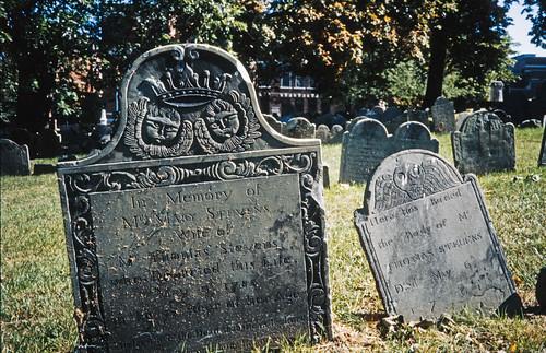 Mary & Thomas Stevens - Copps Hill Burying Ground