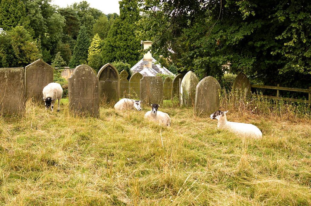 Edensor, Derbyshire, St. Peter's church, caretakers