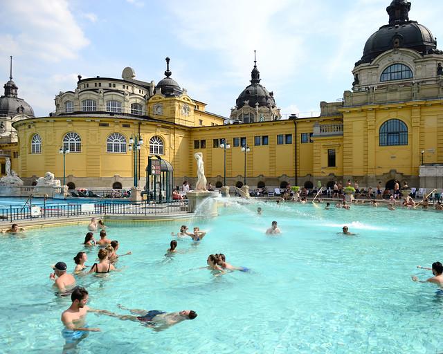 Baños termales de Széchenyi