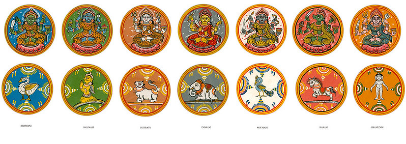 Matruka – Seven Mother figure of Devi