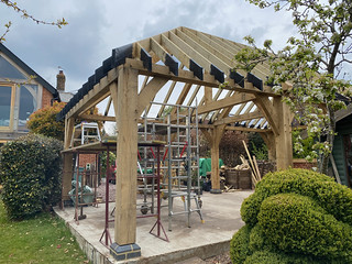Softwood roof complete - 3
