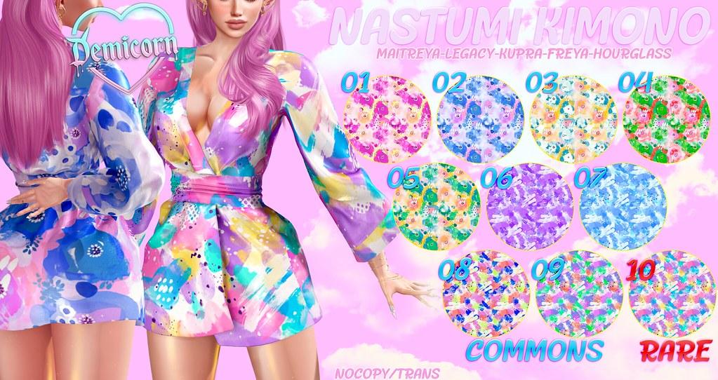 {Demicorn} Nastumi Kimono Gacha AD