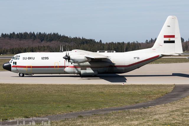 1295 SU-BKU Egypt Air Force Lockheed C-130H-30 Hercules (L-382) (HHN - EDFH - Hahn)