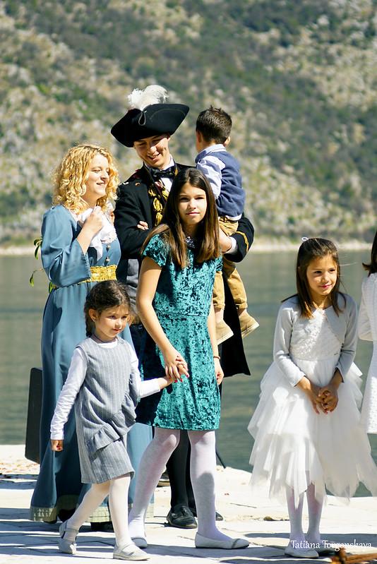 Черногорская семья