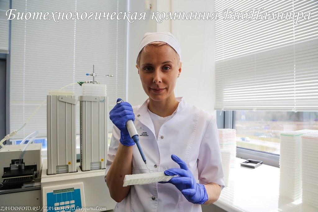 Биотехнологическая компания «БиоПалитра»
