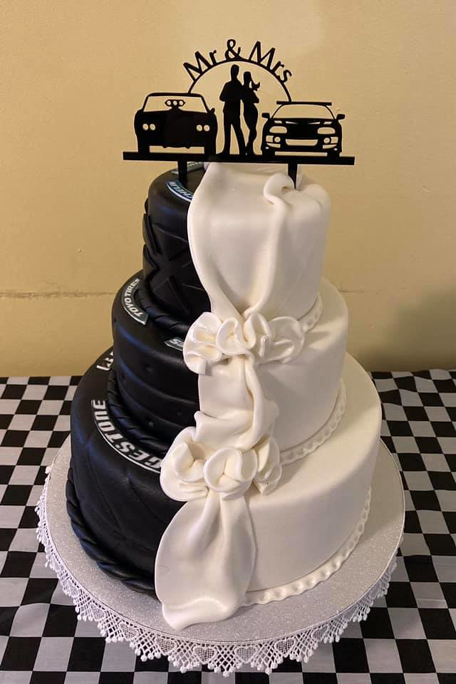 Cake by Rivera's Sweets and Gifts