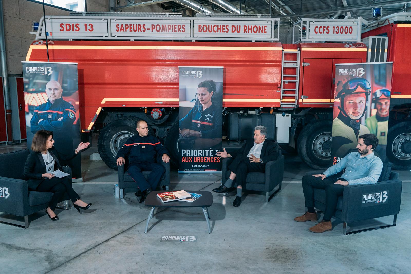L'Émission Pompiers13 : une grande première !