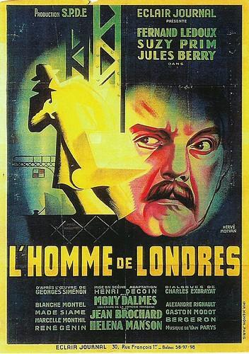 Fernand Ledoux in L'homme de Londres (1943)