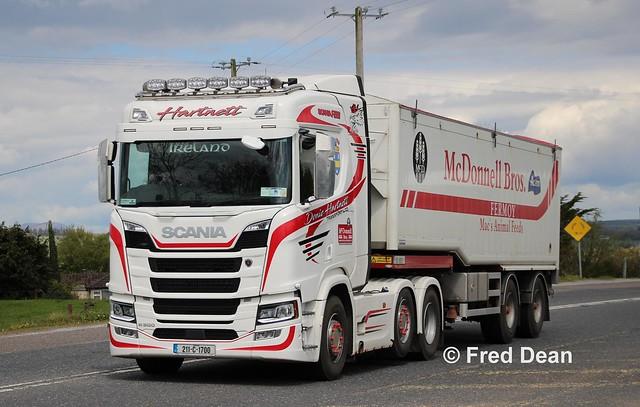 Donie Hartnett Transport Scania R500 (211C1700).