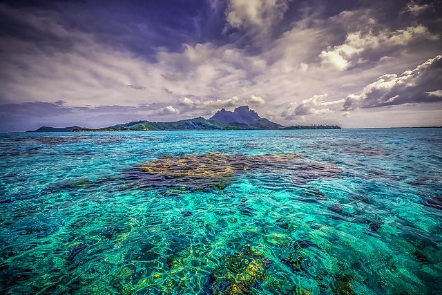 ***Bora Bora Wide Angle View