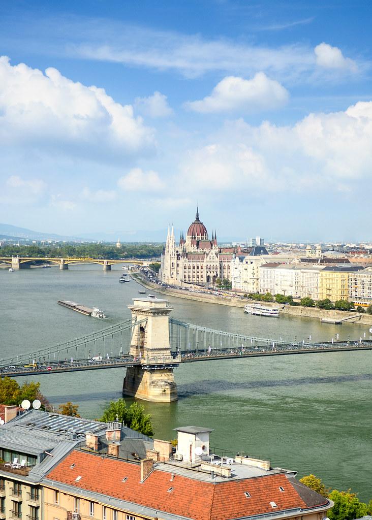 Vistas desde el mirador del Castillo de Buda