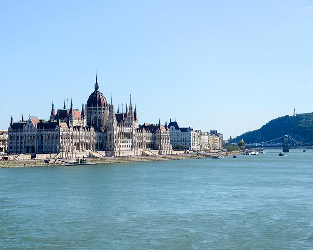 Vistas de Budapest desde el Puente Margarita