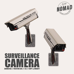 NOMAD // Surveillance Camera @ FLF