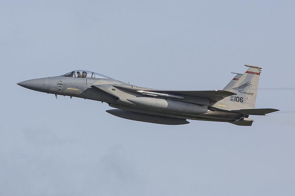 85-0106, McDonnell Douglas F-15C US Air Force @ Leeuwarden EHLW