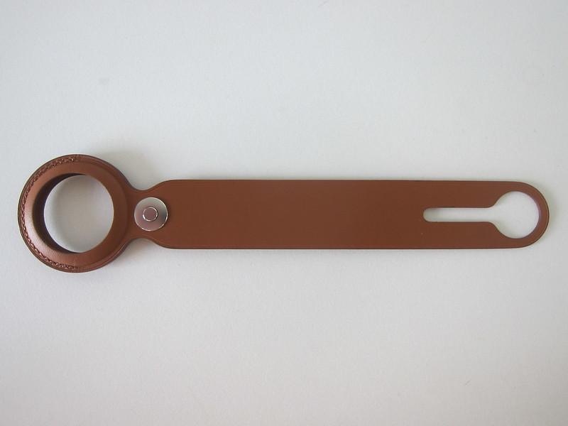 Apple AirTag Leather Loop - Flat
