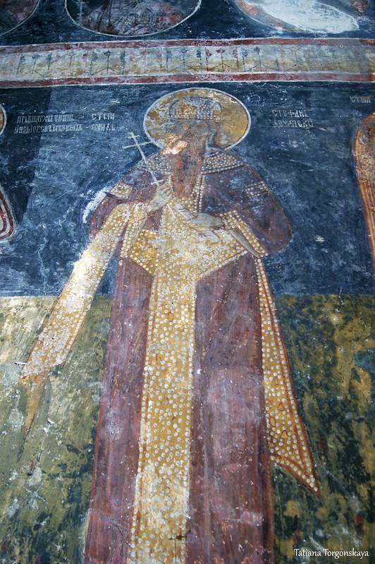 Фрески в монастырской церкви