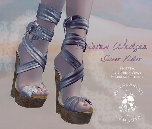 MM Twister Wedges - Sweet Violet