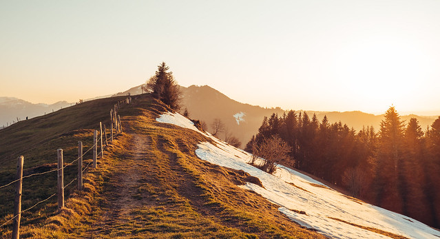Sunset, Morgartenberg