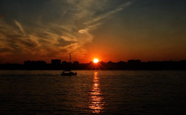 Sunset - Hudson River Park, New York City