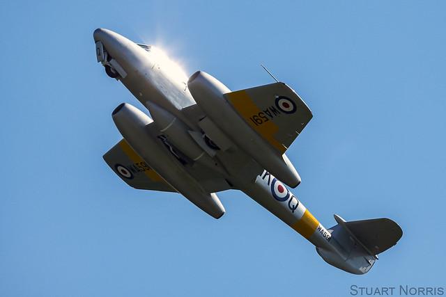 Meteor T7 WA591 G-BWMF - Aviation Heritage Ltd