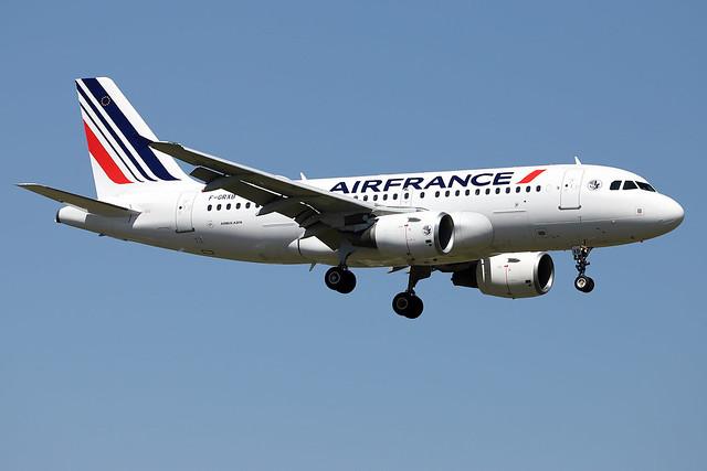 AIRFRANCE / Airbus   A 319   F-GRXB / LFBO - TLS / avril 2021