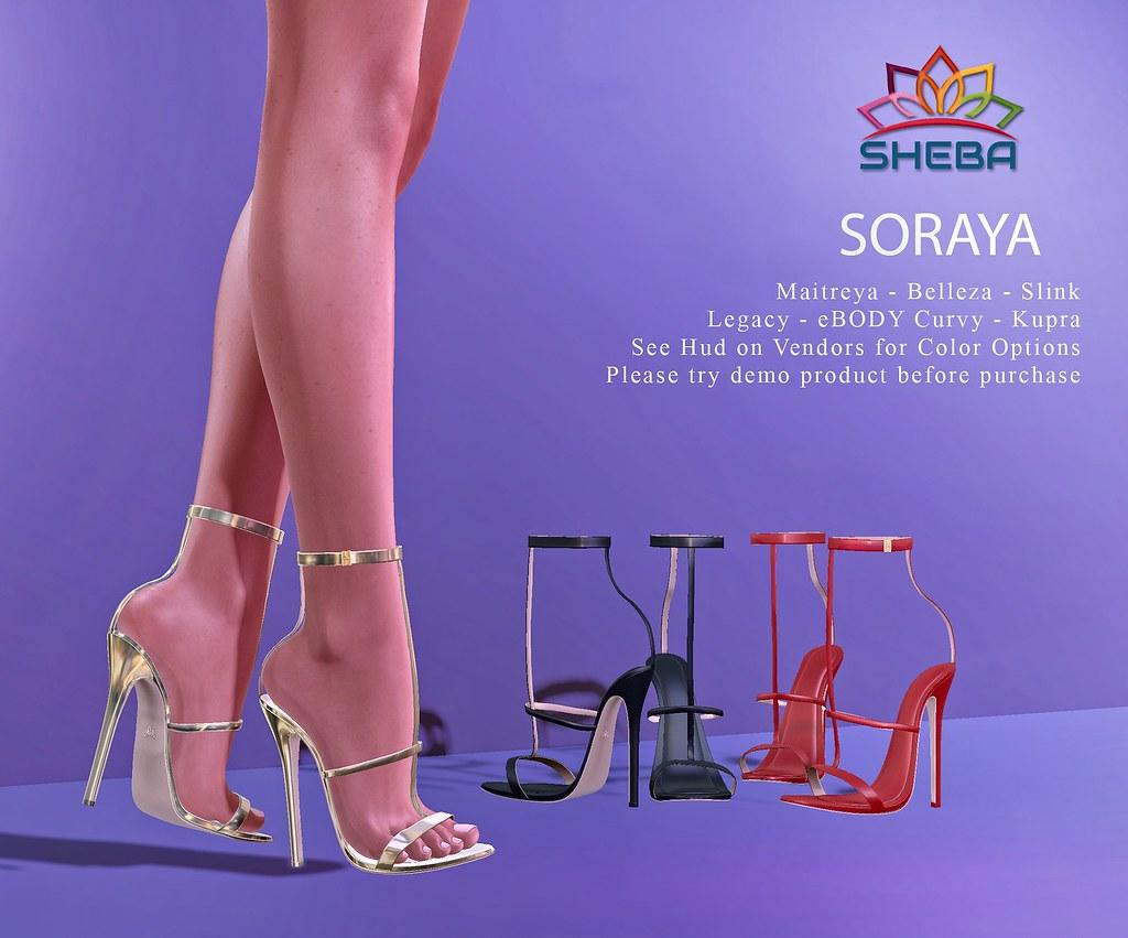 [Sheba] Soraya Heels @FBF SALE