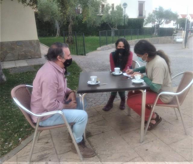 UATAE con asociación de artesanos de Huelva
