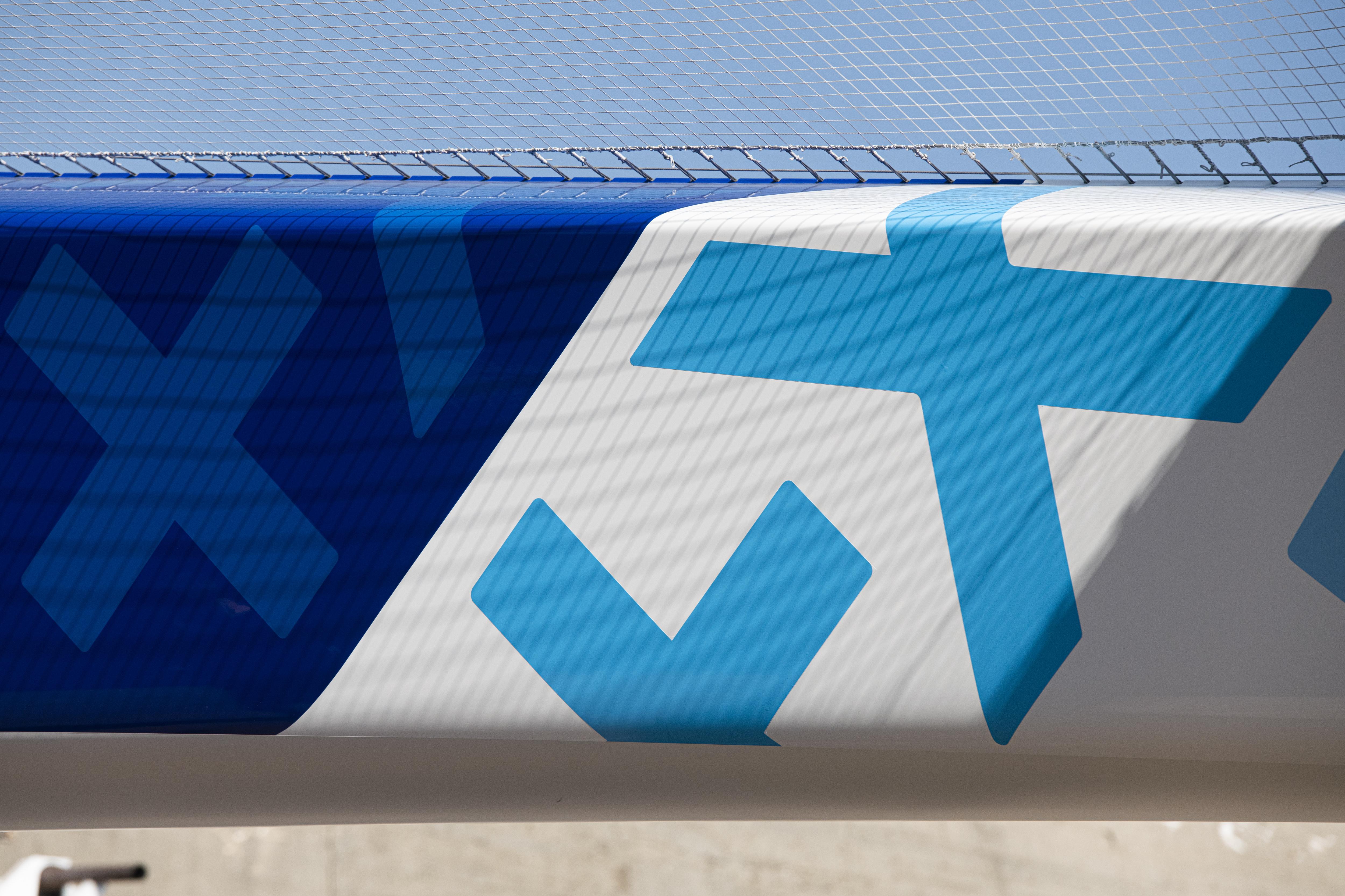 Mise à l'eau Maxi Banque Populaire XI