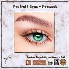 Tville - Portrait Eyes *peacock*